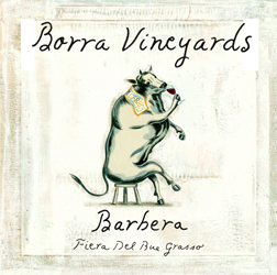 Borra Vineyards Old Vine Barbera Label