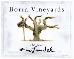 Borra Vineyards Old Vine Zinfandel label