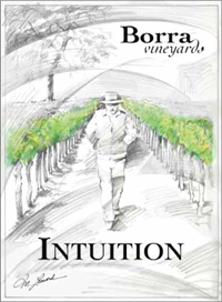 Borra Vineyards Intuition label